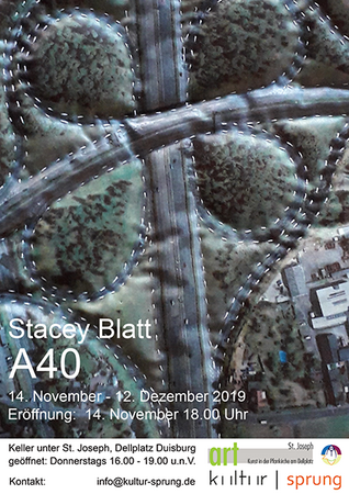 A40  von Stacey Blatt - Ausstellungseröffnung