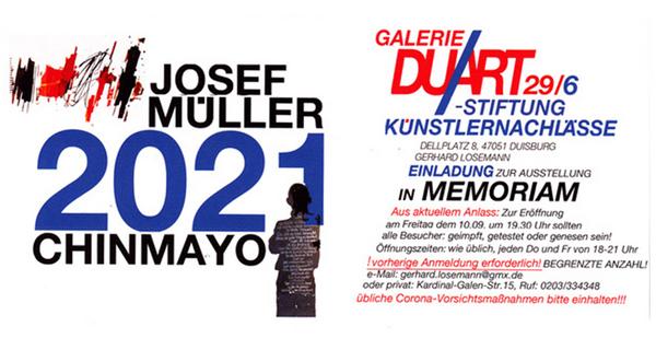 JOSEPH MÜLLER / CHINMAYO 2021 IN MEMORIAM