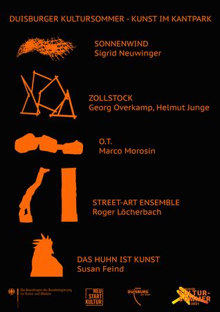 Kunst beim Duisburger Kultursommer