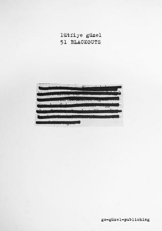 51 BLACKOUTS (Chapbook)