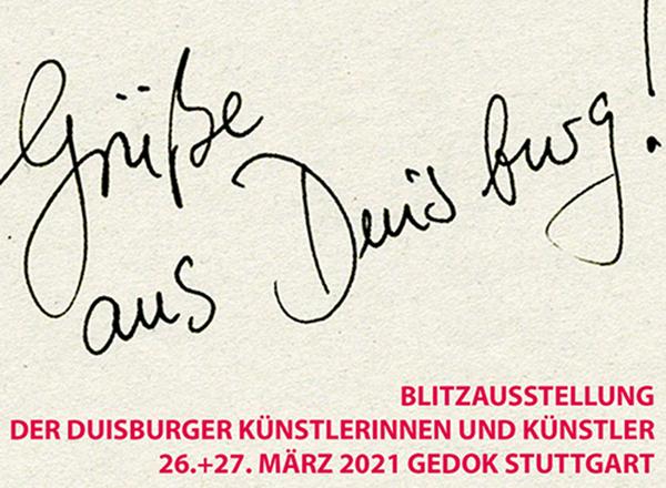 Aufruf: Blitzausstellung der Duisburger Künstler*innen in Stuttgart