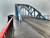Brücke an der Mühlenweide in Duisburg