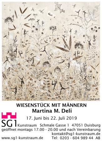 Martina M. Deli: Wiesenstück mit Männern