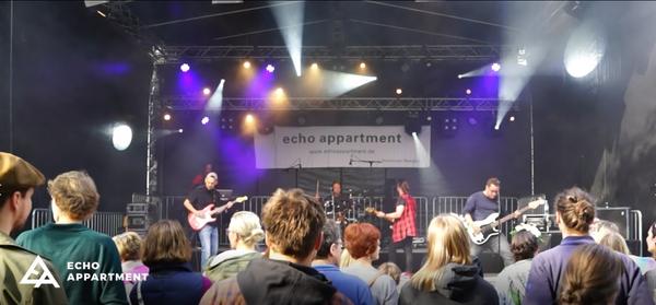 Echo Appartment LIVE auf der Extraschicht