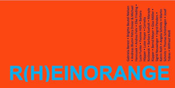 Ausstellung R(H)EINORANGE