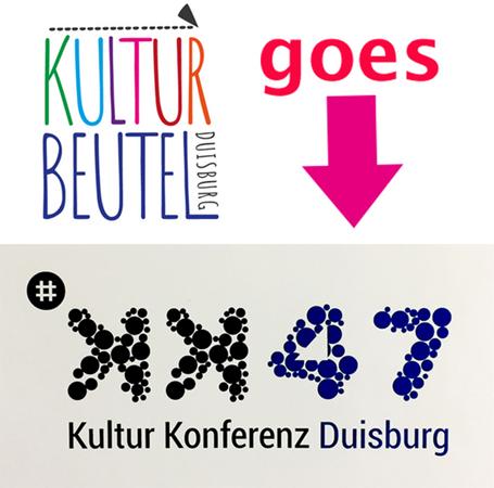 Kulturbeutel goes kk47! 2. Duisburger Kulturkonferenz am 1. Februar in der Gesamtschule Globus am Dellplatz