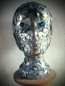 Skulptur ,Kopf