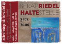 """""""Haltestelle""""  Eine Ausstellung mit Bildern von Serap Riedel"""