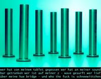 """Berichte aus der Einsiedelei """"Säulen...angeordnet"""""""