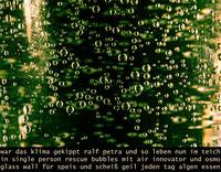 """Berichte aus der Einsiedelei """"Bubble...Innovator"""""""