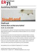StadtLand - Marianna Kalkhof und Andreas Blum